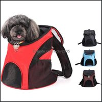 Carrier Supplies Home & Garden Dog Cat Out Carrying Fashionable Breathable Comfort Shoder Backpack Travel Pet Bag Drop Delivery 2021 Ovkfd