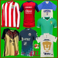 Liga MX 2122 Club America Cruz Azul Futebol Jerseys 21 22 México Léon Unam Terceiro Uanl Tigres Chivas Guadalajara 115 Anos Futebol Camisetas Leon Size S-4XL