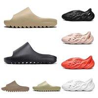 2021 Inertia Flops Foam Slipper Flip Luxury Mens Runner Resin Designer Sandals Kanye Desert Sand Beach Bone West Women Slides Slippers Rnbk