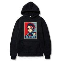 2019 Hot Fashion Demon Slayer Costume Tanjiro Zenitsu Nezuko Inosuke Harajuku Pullover Hoodie Hip Hop Sweatshirt Q0901