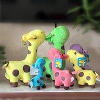25cm giraffe dolls plush toy high quality stuffed animals doll home decoration gifts toys wholesale