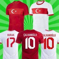 Thaïlande 2021 Turquie Jersey Soccer Arda Inan Tosun Tufan Erkin Malli Topa Calhanoglu Oztekin Custom personnalisé Chemise de football rouge 20 21