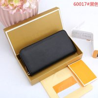 Design jewelry Hot selling new women's long cross card large banknote clip change wallet hand bag 60017 Wallet