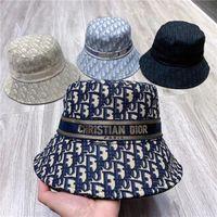 العصرية المائل مصمم دلو قبعة المرأة كاب الصلبة واسعة بريم أعلى جودة 3635235