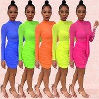 Robes décontractées Vêtements pour femmes Long Femmes Robe Veste Vêtements Vêtements Robe Femme Drop DeliverySexy Summer La Femme Maxi Robe Élégante Col Sling