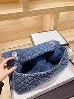 Personaliza las bolsas de diseño único ExclusiveInim Moda de alta capacidad Bolsa de compras + Patchwork liso Bolsos al por mayor Nice