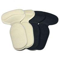 1 paio ortopedico marchio T-shape sile antiscivolo cuscino del tallone del tallone del tallone del tallone della calzata dei pannelli della scarpa