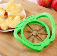 Narzędzia kuchenne Duża Apple Cut Multifunction z uchwytem Ze Stali Nierdzewnej Corowane Krajalnice Krajalnicze Cięcie Gadżety Kuchenne FWF11022