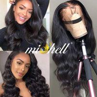 Lace Wigs Body Front Human Hair Brazilian Wave PrePlucked 13X4 13X6