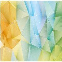 3D-Stereo-Dreieck modern minimalistischer Hintergrundwand-Tapete Wandbild-stereoskopische Tapeten