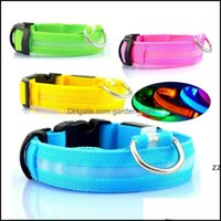 Leashes Home & Gardennylon Led Pet Dogs Collars Night Safety Flashing Glow In The Dark Dog Leash,Pets Luminous Fluorescent Collar Puppy Supp
