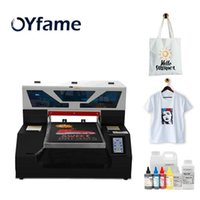 Oyfame A3 DTG Yazıcı T Gömlek Baskı Makinesi Hoodies Printers için Dokunmatik Ekranlı