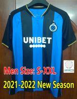 21 22 Club Brugge KV Jerseys de fútbol R.Lukaku de Bruyne Tielemans Peligro 2021 2022 Brujas Vormer Vaenken Diatta Camisa de Fútbol Jersey Uniforme CAMESITAS PIE