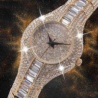 Designer luxury brand watches 30mm Small Womens Shockproof Waterproof Ladies Ar Metal bracelets Rhinestone Bu Cheap Chinese es