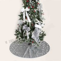 زينة عيد الميلاد الديكور مع جورب كبير لحزب مرح شجرة عيد الميلاد تنورة زخرفة مهرجان اللوازم 344N