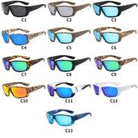 럭셔리 디자이너 선글라스 TR90 남자를위한 편광 된 태양 안경 선글라스 패션 야외 낚시 선글라스 높은 품질