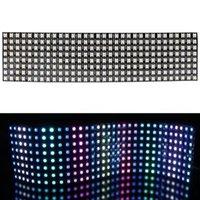 Strips Nimimoon 8x8 16x16 8x32 픽셀 SK6812 WS2812B 개별적으로 어드레스 가능한 디지털 유연한 LED 패널 화면 Gyverlamp DC5V
