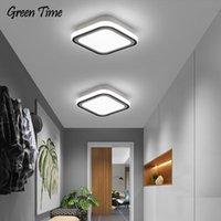 أضواء السقف الحد الأدنى LED مصباح ممر ضوء لغرفة المعيشة غرفة نوم الطعام الممر المعدن اللمعان