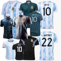 2018 2019 2019 2020 2021 2022 الأرجنتين مفهوم كرة القدم الفانيلة Otamendi L.Martinez كون أجويرو dybala دي مارياو ميسي مارادونا شارة خاصة الذهبي كرة القدم الرجال الاطفال قميص