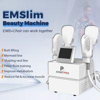 Body contouring EMslim HI-EMT slimming machine electromagnetic Muscle Stimulation fat burning shaping hiemt Electro magnetic Stimulator beauty equipment