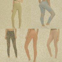 lu womens yoga leggings suit pants High Waist Sports Raising Hips Gym Wear Legging Align Elastic Fitness Tights Workout set y5h2#