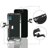 Schermo di pannelli LCD del telefono cellulare OLED per iPhone X Display Touch Digitizer Assembly Ricambi di riparazione di ricambio senza confezione