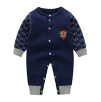 Baby Rompers Infant Long Sleeve Jumpsuits Autumn Winter Toddler Thicken Warm Onesies Cotton Kids Clothes Hight Quality