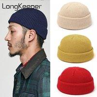 Beanies Knitted Hat Women Men Skullies Hats Autumn Winter Cap Beanie Warmer Bonnet Casual Solid Soft Elastic Unisex