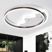 Ceiling Lights Nordic Simple Diamond Metal Led Acrylic Living Room Dimmable Lamp Bedroom Light Fixtures