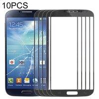 Painéis 10 PCS Front Screen Oter Lente de vidro para Samsung Galaxy S IV I9500