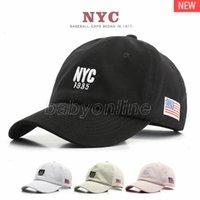 Sombreros de fiesta de moda NYC 1985 Bordado Hip Hop Pasado Cap Sun Hat America EEUU EE. UU. Deportes al aire libre Snapback gorras de béisbol para hombres y mujeres
