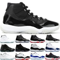 11 11s Men Women Basketball Shoes 25th Anniversaty Bred Low ...