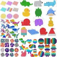 24h Schiff! DHL Tiktok Rainbow Keychain Push It fapp toy spielzeug sensory Push Bubble Zappel