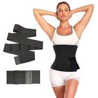 Wrap Bel Trainer Shaperwear Kemerleri Kadınlar Zayıflama Karın Kemer Korse Üst Streç Bantlar Cincher Vücut Şekillendirici Sarar