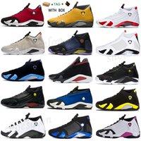 2021 Basketbol Ayakkabı Jumpman 14 14s Erkekler Spor Salonu Kırmızı Mavi Şeker Terracotta Cane Üniversitesi Son Atış Altın Hiper Kraliyet Erkek Eğitmenler Spor Sneakers
