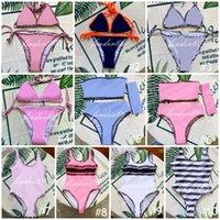 Mode mélange 20 styles femmes maillots de bain bikini ensemble multicolores heure d'été plage baignade maillot de bain vent maillot de bain de haute qualité