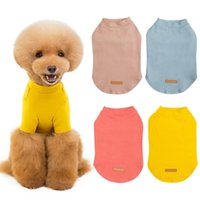 Dog Apparel Pet Thickening Clothes Cotton T-Shirt Puppies Body Warm Coat Winter Hoodies Costumes Clothing