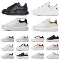 أزياء أبيض أسود من جلد الغزال منصة رجل ruunning أحذية جلد الثعبان منخفضة قطع جلدية مسطحة الرجال النساء المدربين الرياضة رياضة chaussures zapatos