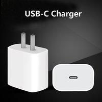 18W 20W PD 타입 C USB 충전기 빠른 충전 EU US 플러그 어댑터 휴대 전화 전원 배달 iPhone 12 11 x 7 8 Pro Plus Max XS를위한 빠른 충전기