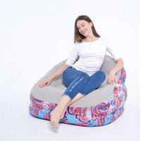 길롱 편안한 풍선 공기 안락 의자 레저 소파 PVC 휴대용 환경 친화적 인 도매 수레 튜브