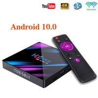 H96 MAX Smart TV Box Android 10 4GB 64GB Wifi 4K Youtube H96MAX 2G16G TVBOX Set top boxs