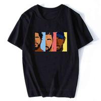 T-shirt drake j cole kendrick lamar hip hop männer t-shirts mode cooles design männer baumwolle streitenbekleidung rappel ästhetische kleidung