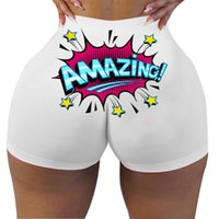 Wholesale Boutique High Shorts Waisted Women'S Casual Plus Size S-4XL Summer Biker Custom Quality Stretch Pant