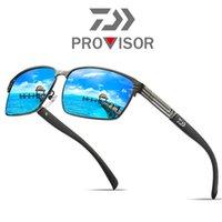 UV400 Fischer Sonnenbrillen Anti-Blend-Angelgläser Männer Angeln Wandern Camping Eyewear Sport Lauflauf Fahrradbrillen