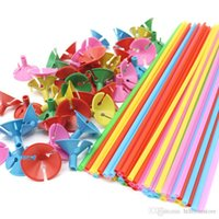 hthome 100pcs lot 32cm colorful Balloon Accessories Balloon Holder Sticks with cups Thickening high quality Party Supplies Decoration