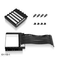 Upright GPU Display Card Kit,For O11 Dynamic & Air Case,200mm PCI-E Express 16X Riser Adapter Extender Cable Kit Fans Coolings