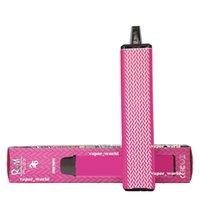 Vape jetable 2600 Puffs Randm Flex E Cigarettes Vapeur Plus Barres 8.5ml Post de cartouche Pre remplie Packaging 18350 A + Batterie