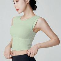 FemmesSuitsUitsSeSameSame Yoga Sports en cours d'exécution VT, soutien-gorge, costume de fitns à séchage rapide, costume corporel des manchons
