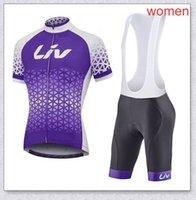 Liv CCC Team Womens Cycling Jersey Abbigliamento Bicicletta Estate Estate Traspirante Manica corta Bib Bib Shorts Suit Sport Uniform Y21041018