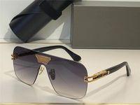 Grand Ami-Sonnenbrille für Männer fahren Sommer-Stil Anti-Ultraviolett-Retro-Rechteck-Platte Full-Frame-Modebrillen Random-Box